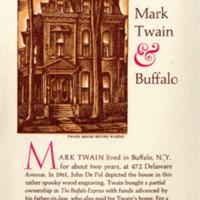 Mark Twain & Buffalo